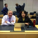 Bryan Rawlings, VE3QN, RAC Special Advisor, is in Geneva attending the first Preparatory Meetings
