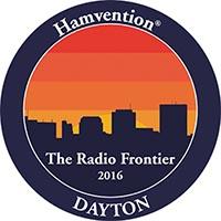 Dayton Hamvention logo: The Radio Frontier