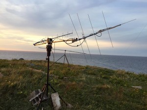 CY9C DXpedition antenna