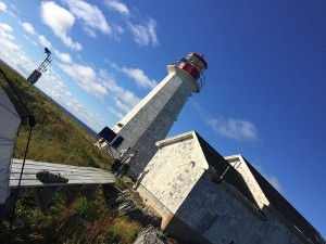 Lighthouse at North East Point on St Paul Island