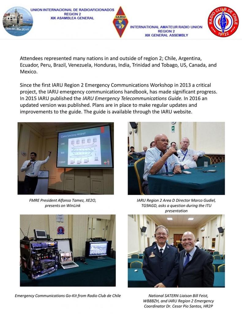 IARU Region 2 Press Release (page 2)