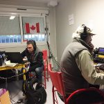 VE3FU and VO1HP operating at TM100VIMY