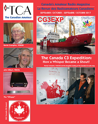 Front cover of September-October 2017 TCA