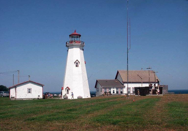 East Point Lighthouse in Prince Edward Island