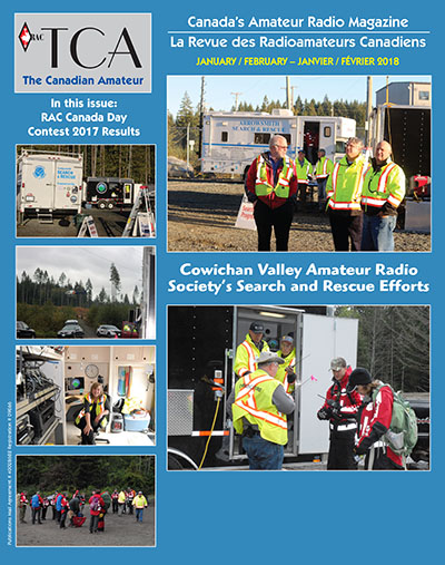 Front cover of the January-February 2018 TCA