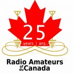 RAC 25th Anniversary Logo: bilingual