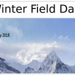 Winter Field Day Flyer