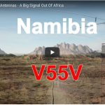 A Visit to Amateur station V55V in Namibia, Africa