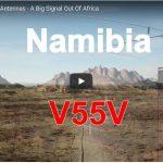 A Visit to Amateur station V55V in Namibia, Africa