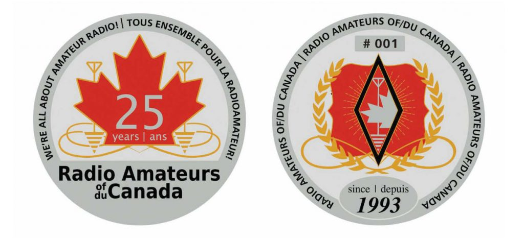 RAC 25th Anniversary Challenge Coin