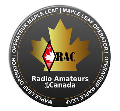 RAC Gold Maple Leaf Operator pin