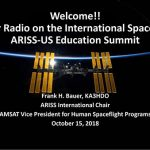 RAC President Glenn MacDonell, VE3XRA, attends ARISS-US Education Summit in Washington