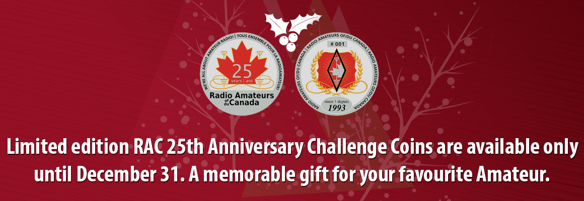 RAC 25th Anniversary Challenge Coin promotion