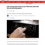 CBC News item January 27: Why Ham Radio is still