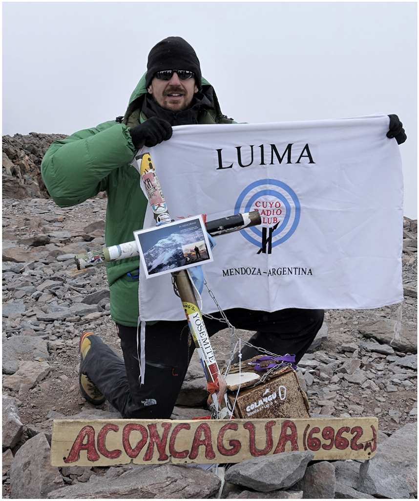 Summits On The Air (SOTA) Aconagua activation