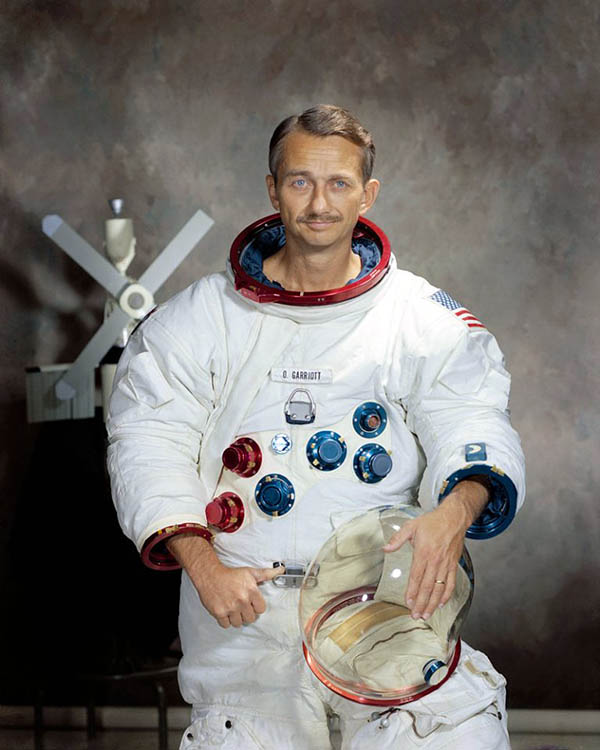 Astronaut Owen Garriott, W5LFL: First Amateur in Space