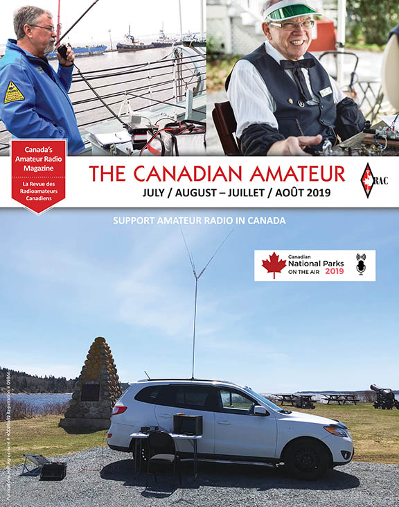 Front cover of the July-August 2019 TCA